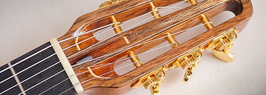 صدای تولید شده توسط سیمهای فلزی گیتار اکوستیک خیلی بلند، رسا و واضح است و این گیتار یک گیتار همهکاره و تطبیقپذیر محسوب میشود.